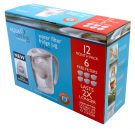 Waterfilterkan inclusief  6 doublelife filters