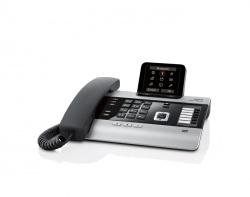 Het geavanceerde bureautoestel met meerdere antwoordapparaten en uitbreiding naar 6 handsets