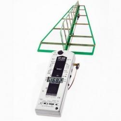 Gelijk aan het model hierboven, echter het basisapparaat is geschikt voor metingen vanaf 27 MHz. Frequentiebereik: 800MHz - 2,5 GHz