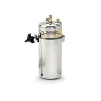 Waterzuiveraar voor 8 liter/minuut. Rechtstreeks aan te sluiten op de waterleiding voor gezuiverd water uit de kraan. (zonder kraan)