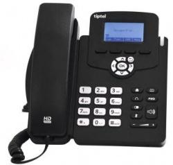 IP Telefoon met piëzohoorn (geen magneetvelden aan het oor)